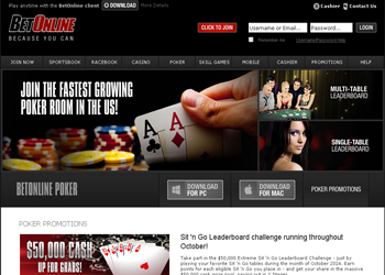 Bet Online Poker Review